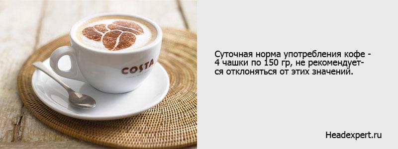 Не злоупотребляйте кофе при высоком давлении
