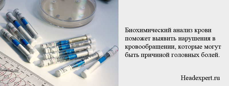 Биохимический анализ крови поможет выявить нарушения кровообращения